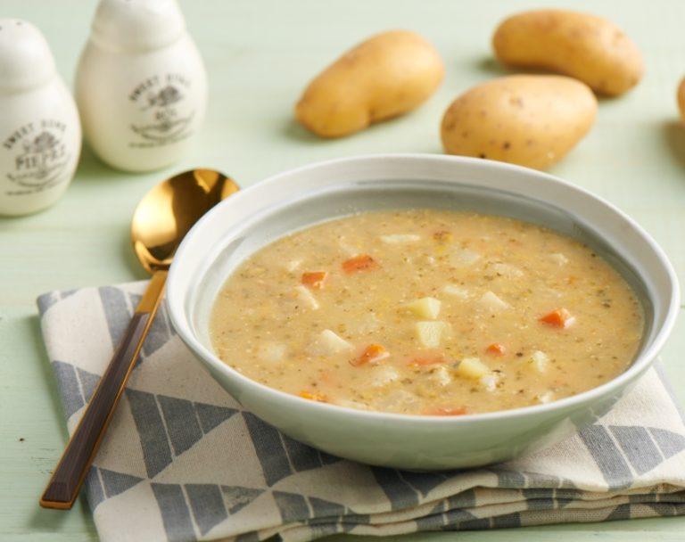 Zupa ogórkowa z koperkiem