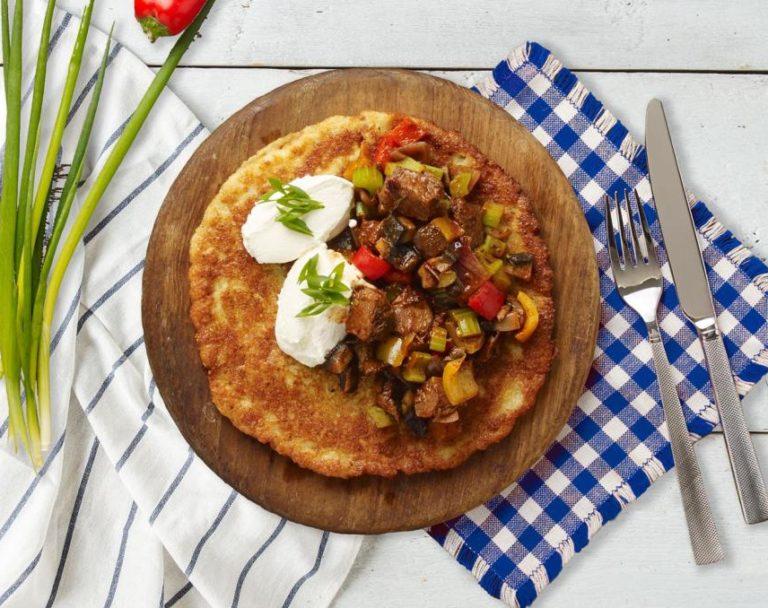 Sekrety Polskiej Kuchni Placki Ziemniaczane Z Gulaszem Kucharek