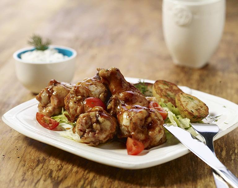 Pikantní kuřecí stehýnka
