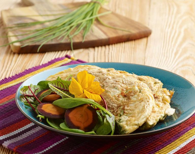 Zeleninová omeleta