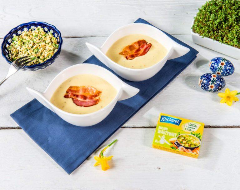 Chrzanowa zupa krem na Wielkanoc