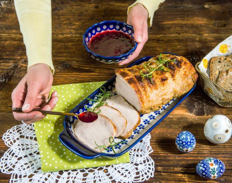 Wielkanocny schab pieczony