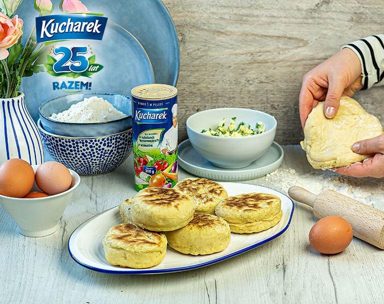 Podkarpackie proziaki z masłem czosnkowym