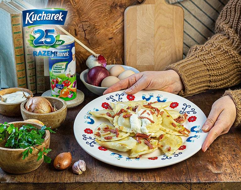 Pierogi lubelskie z kaszą gryczaną i serem