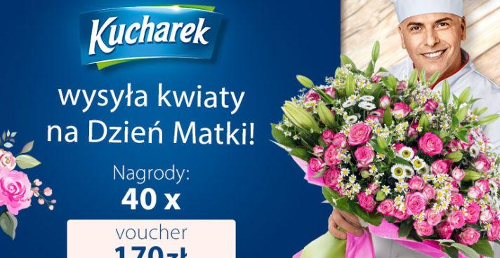 Konkurs: Kucharek wysyła kwiaty na Dzień Matki